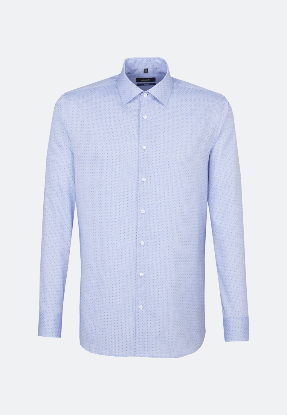 Easy-iron Oxford Business Shirt in Shaped with Kent-Collar in Light blue    Seidensticker Onlineshop