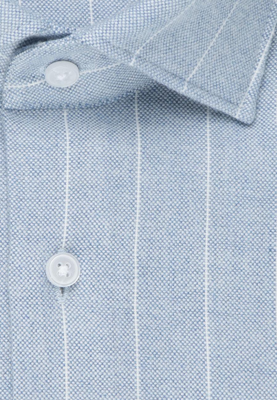 Bügelleichtes Oxford Business Hemd in Regular mit Kentkragen in Hellblau    Seidensticker Onlineshop