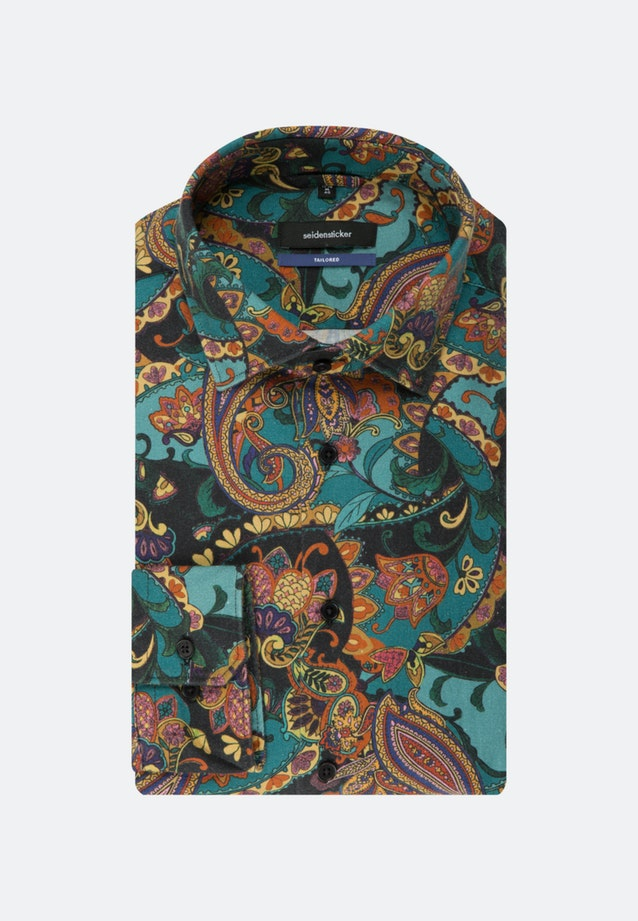 Bügelleichtes Twill Business Hemd in Shaped mit Kentkragen in Orange    Seidensticker Onlineshop