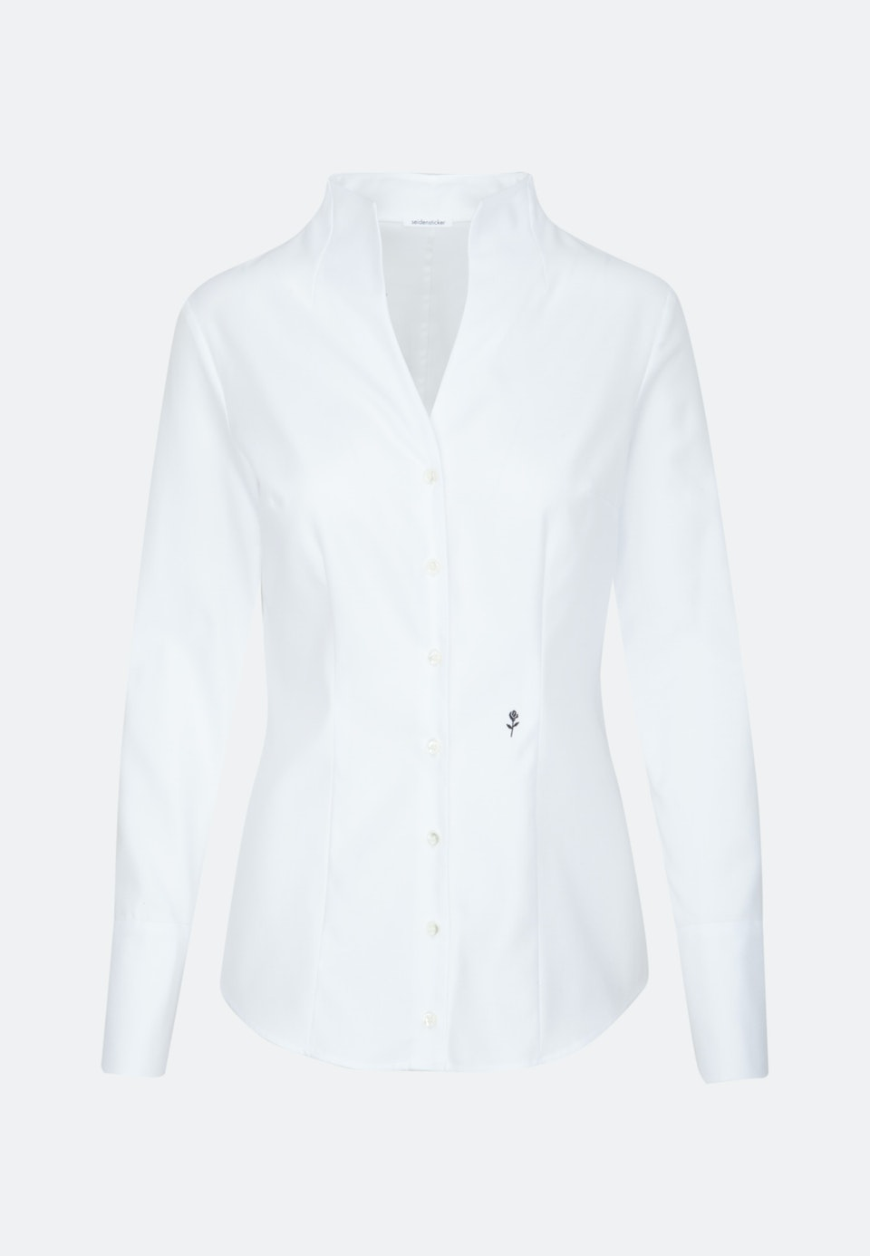 Twill Chalice Blouse made of 100% Cotton in Ecru |  Seidensticker Onlineshop