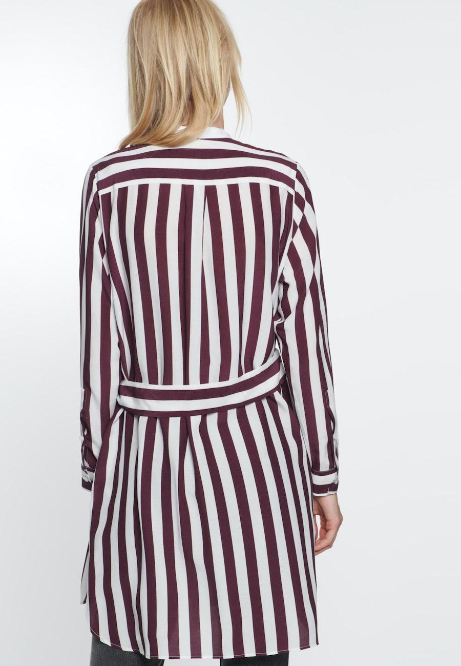 Crepe Midi Dress made of 100% Viscose in Red |  Seidensticker Onlineshop
