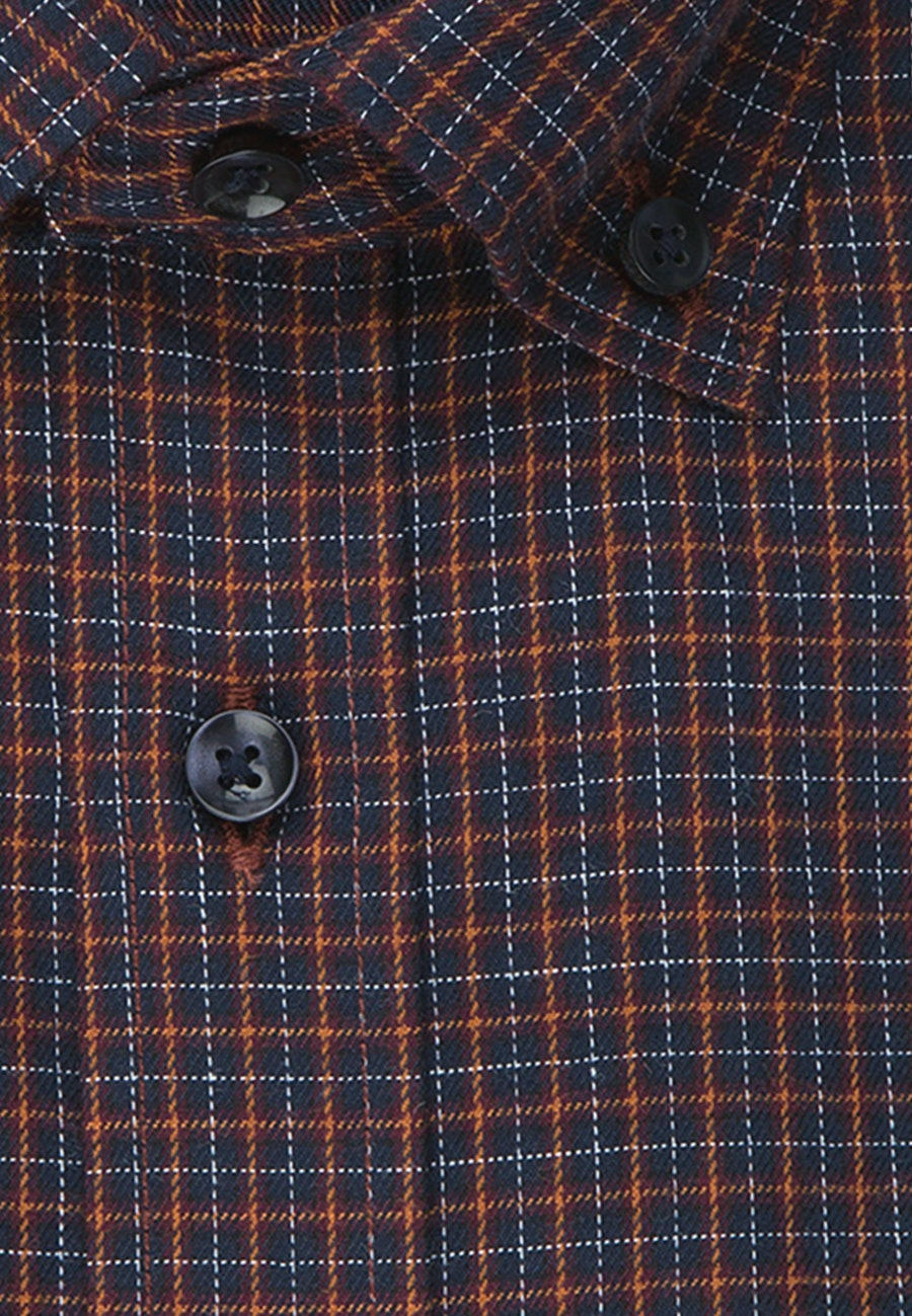 Easy-iron Twill Business Shirt in Slim with Button-Down-Collar in Red |  Seidensticker Onlineshop