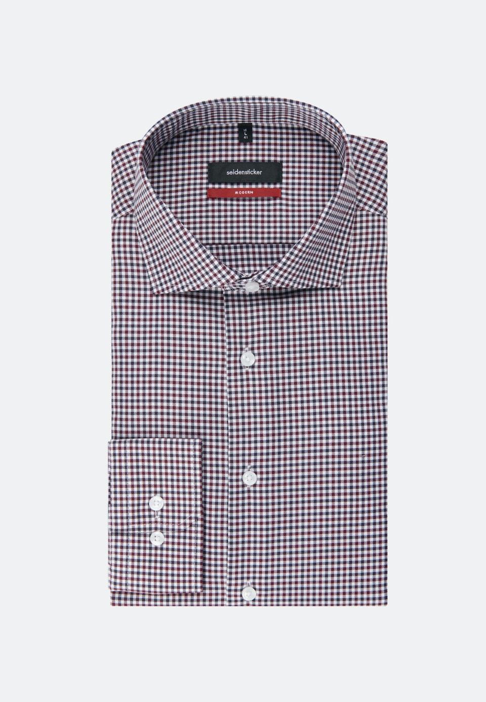 Non-iron Twill Business Shirt in Regular with Kent-Collar in Red |  Seidensticker Onlineshop