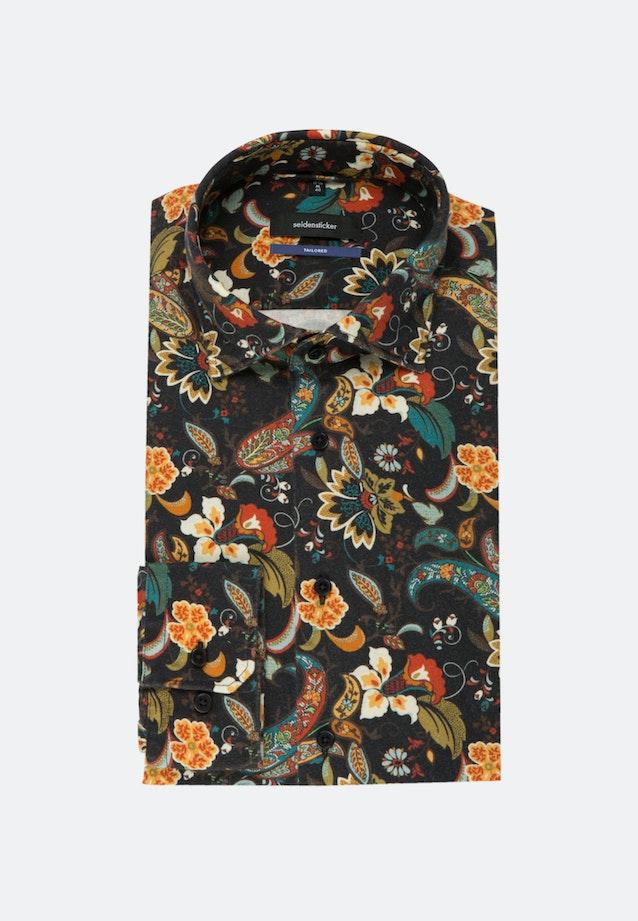Twill Business Hemd in Shaped mit Kentkragen in Grün |  Seidensticker Onlineshop