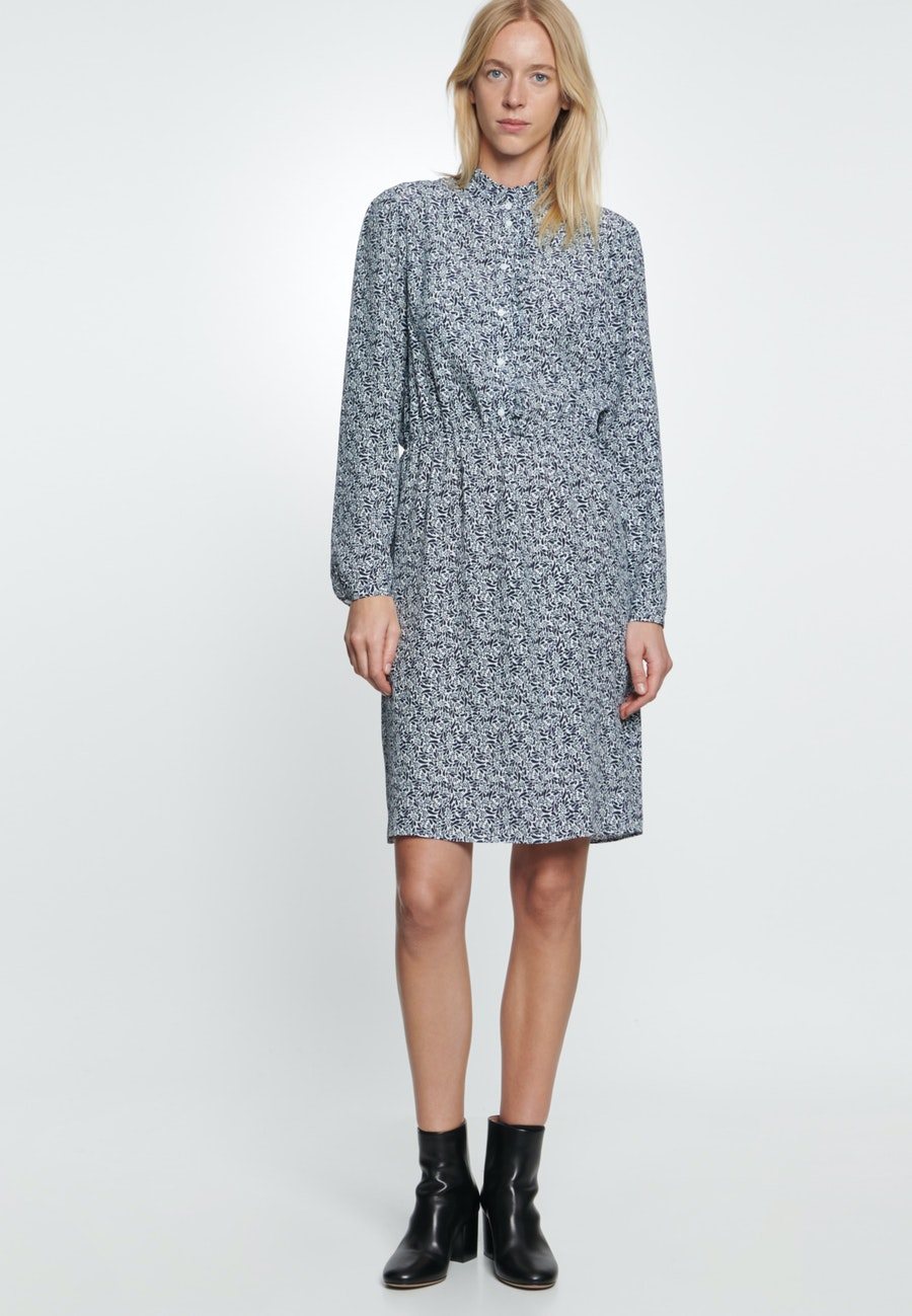Crepe Midi Dress made of 100% Viscose in Ecru |  Seidensticker Onlineshop