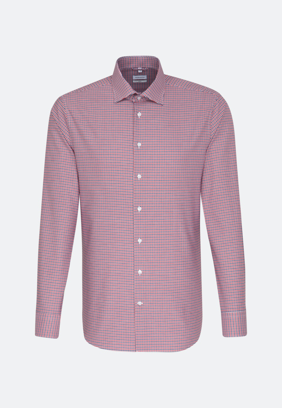Non-iron Oxford Business Shirt in Slim with Kent-Collar in Red |  Seidensticker Onlineshop