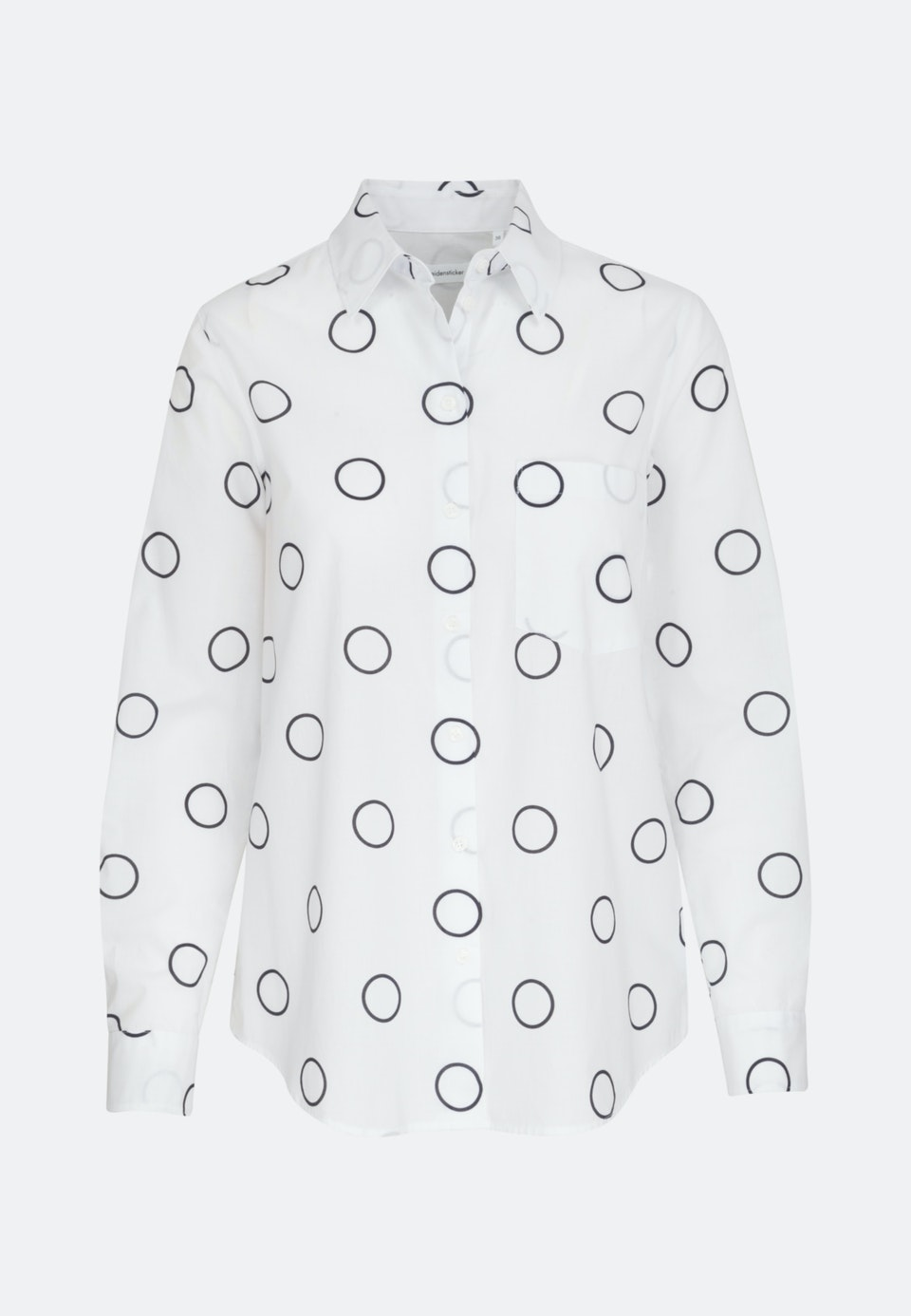 Voile Shirt Blouse made of 100% Cotton in White |  Seidensticker Onlineshop