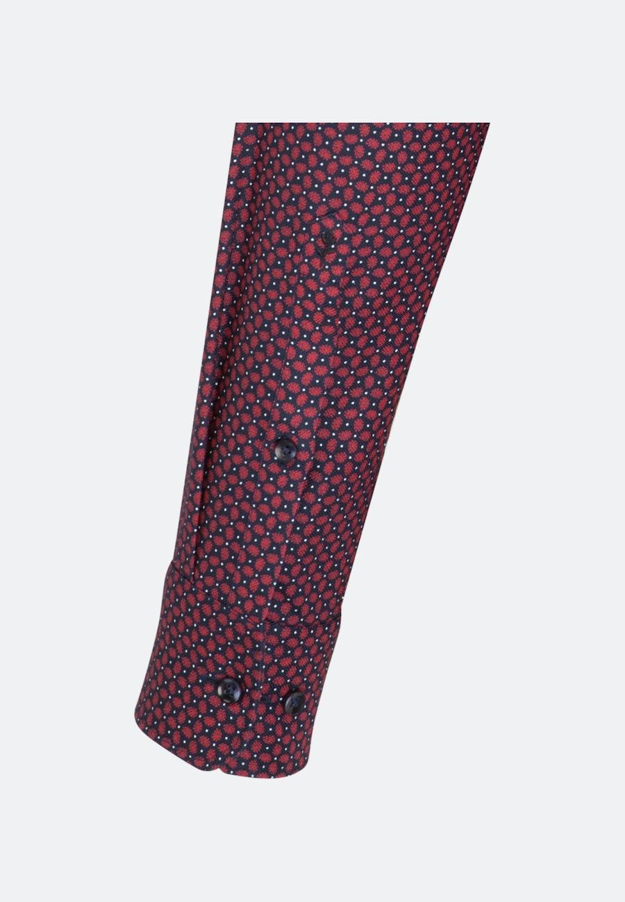 Easy-iron Struktur Business Shirt in Regular with Kent-Collar in Red |  Seidensticker Onlineshop