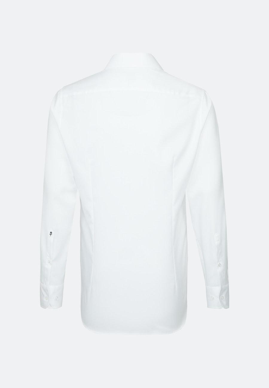 Non-iron Struktur Business Shirt in X-Slim with Kent-Collar in White    Seidensticker Onlineshop