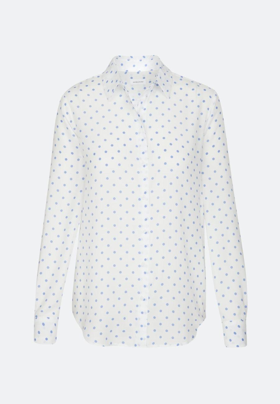 Voile Shirt Blouse made of 100% Viscose in Ecru |  Seidensticker Onlineshop