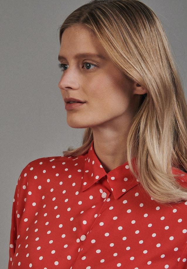 Voile Hemdbluse aus 100% Viskose in Rot |  Seidensticker Onlineshop