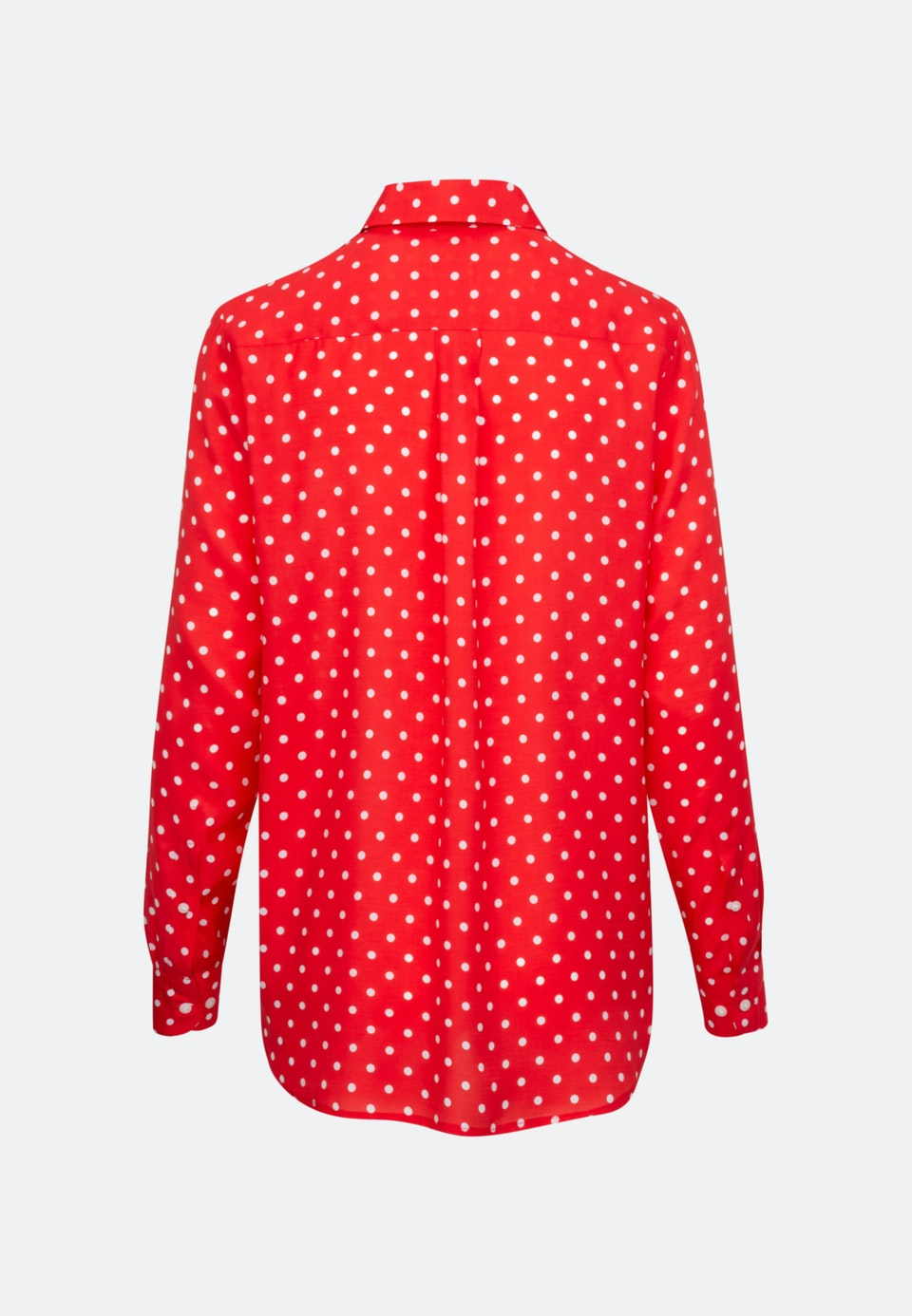 Voile Shirt Blouse made of 100% Viscose in Red |  Seidensticker Onlineshop