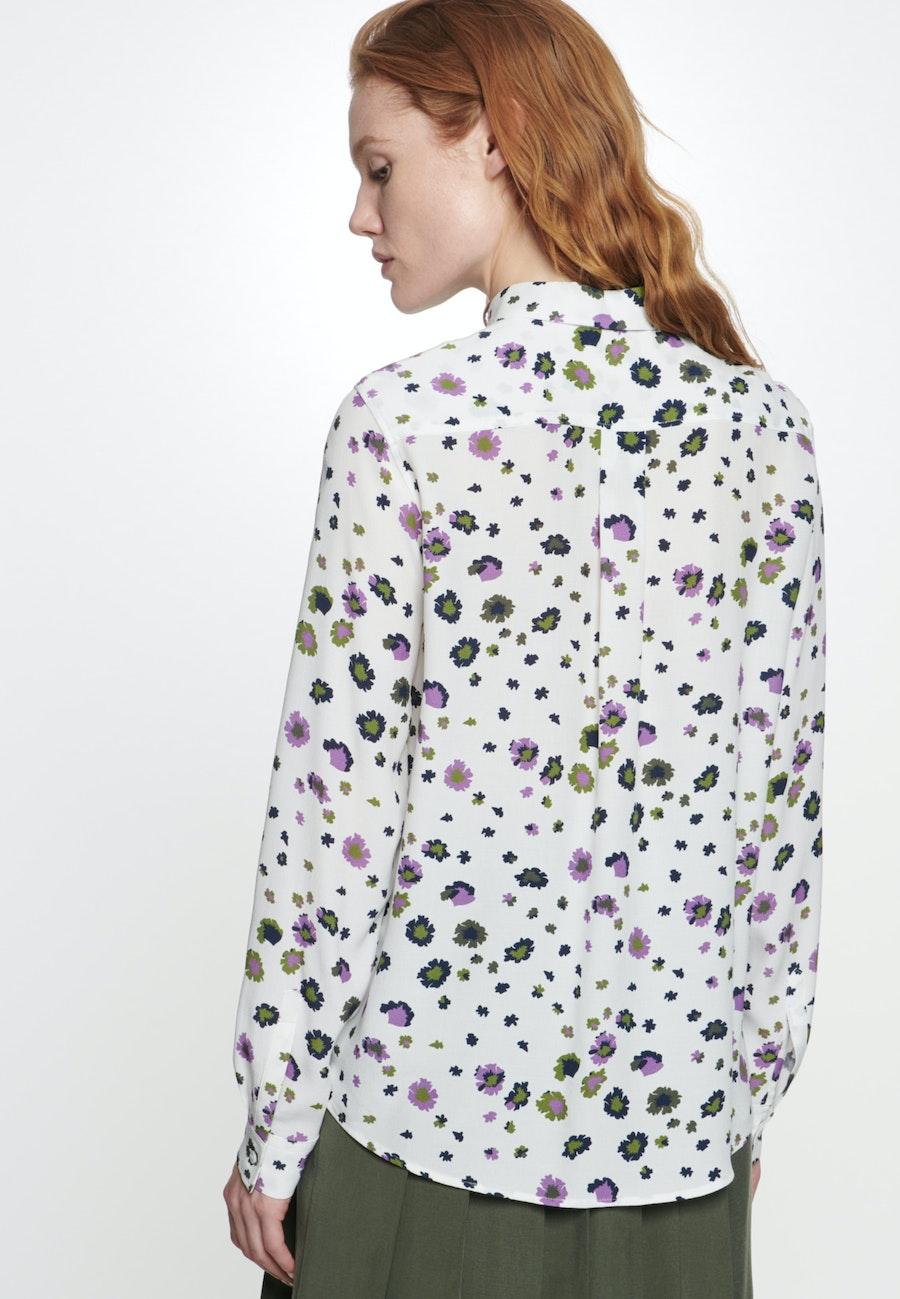 Krepp Hemdbluse aus 100% Viskose in Ecru |  Seidensticker Onlineshop