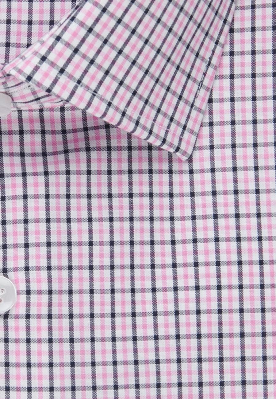 Bügelfreies Popeline Business Hemd in Regular mit Kentkragen in Rosa/Pink |  Seidensticker Onlineshop