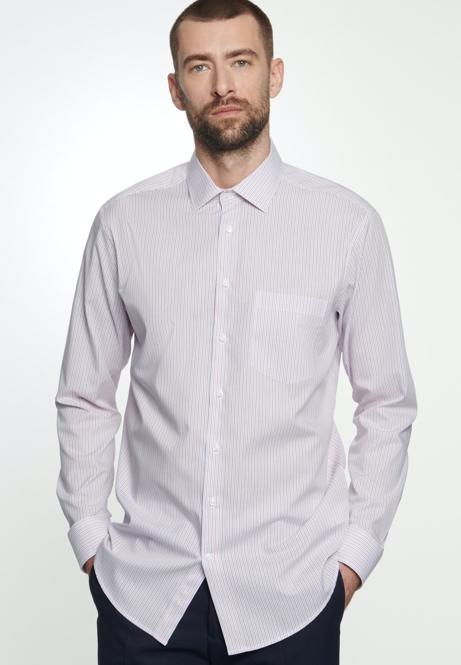 Non-iron Poplin Business Shirt in Regular with Kent-Collar in White |  Seidensticker Onlineshop