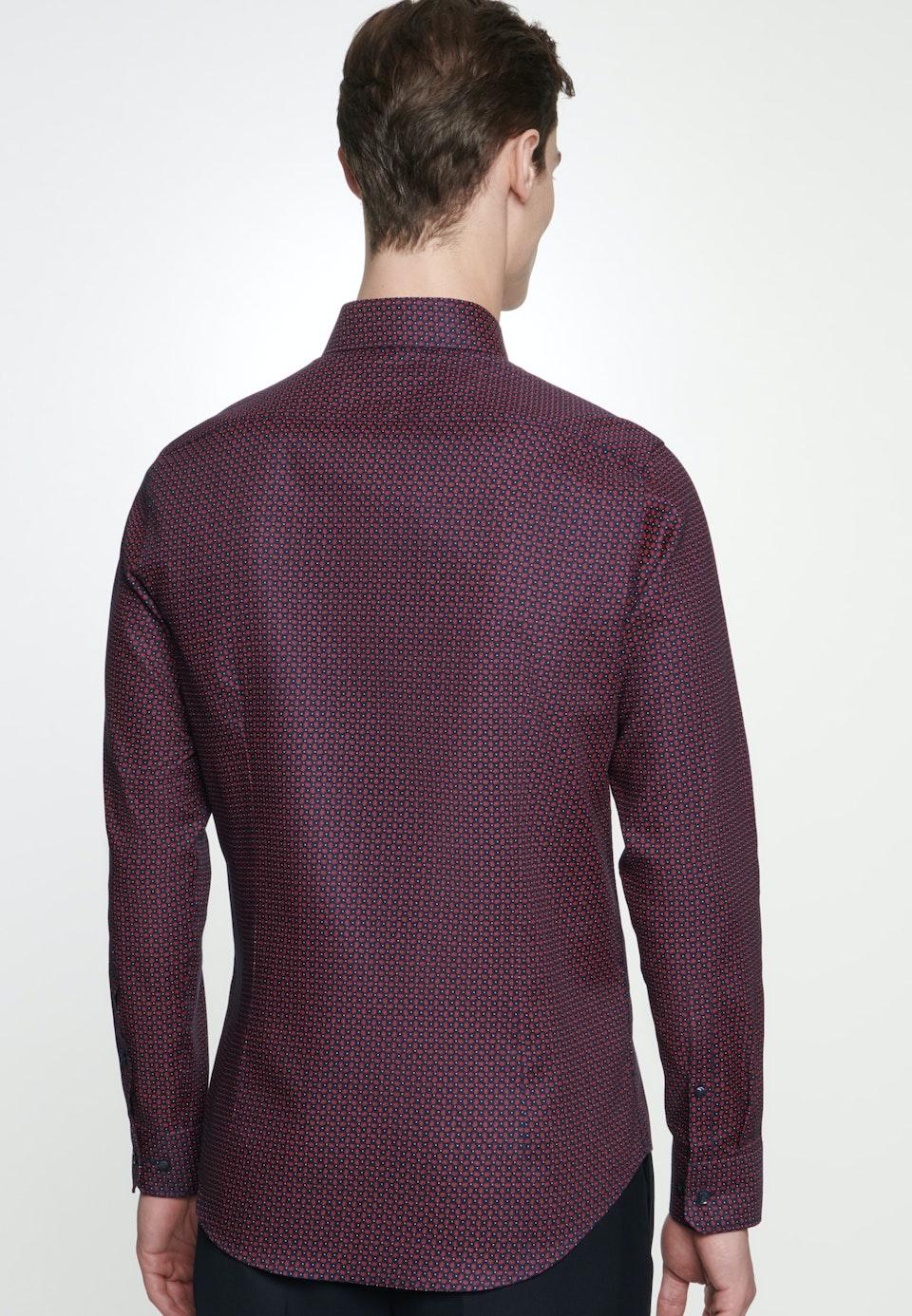 Easy-iron Struktur Business Shirt in Slim with Kent-Collar in Red |  Seidensticker Onlineshop