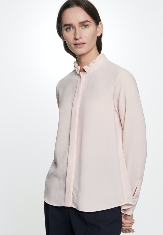 Poplin Stand-Up Blouse made of 100% Polyester in Pink |  Seidensticker Onlineshop