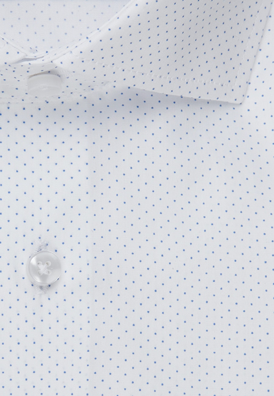 Easy-iron Popeline Business Shirt in Regular with Kent-Collar in White |  Seidensticker Onlineshop