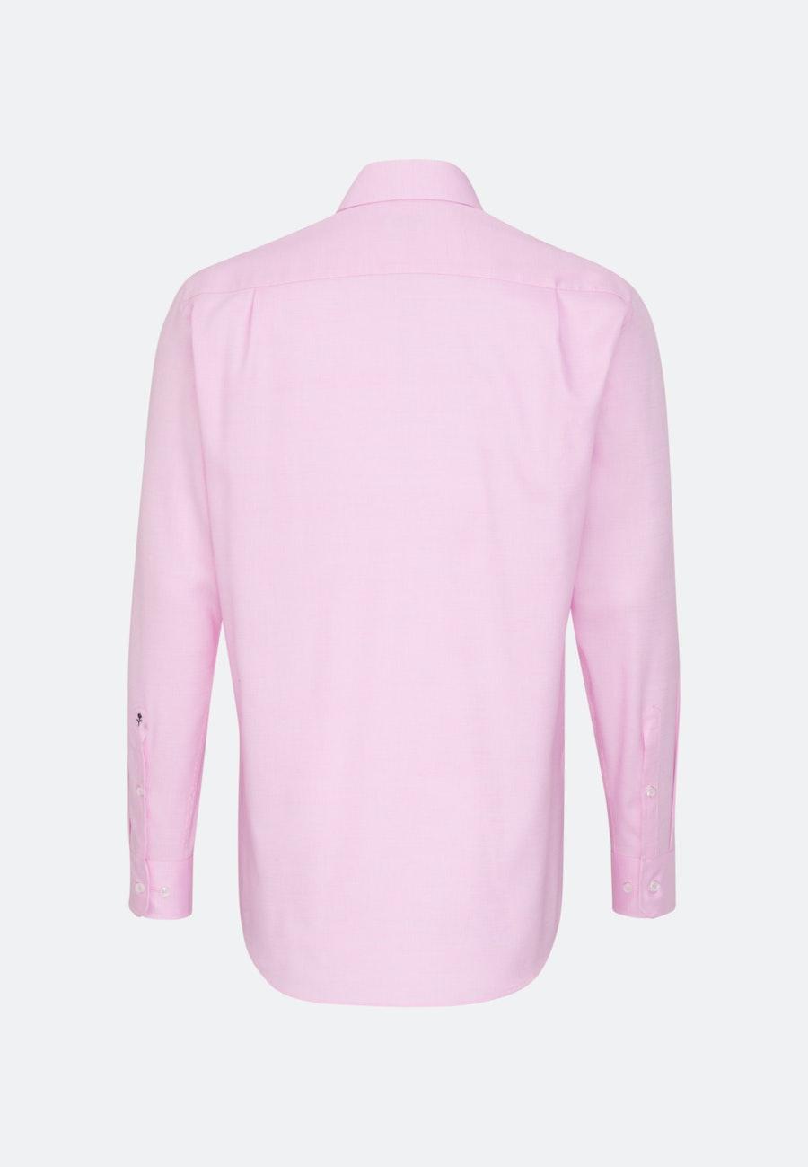 Non-iron Structure Business Shirt in Regular with Kent-Collar in Pink    Seidensticker Onlineshop