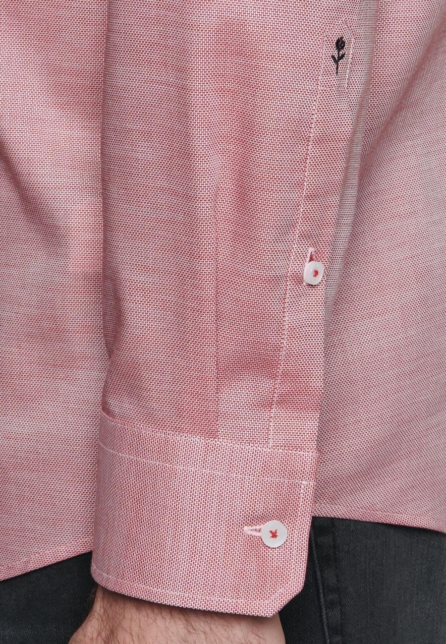 Non-iron Struktur Business Shirt in Regular with Kent-Collar in Red |  Seidensticker Onlineshop