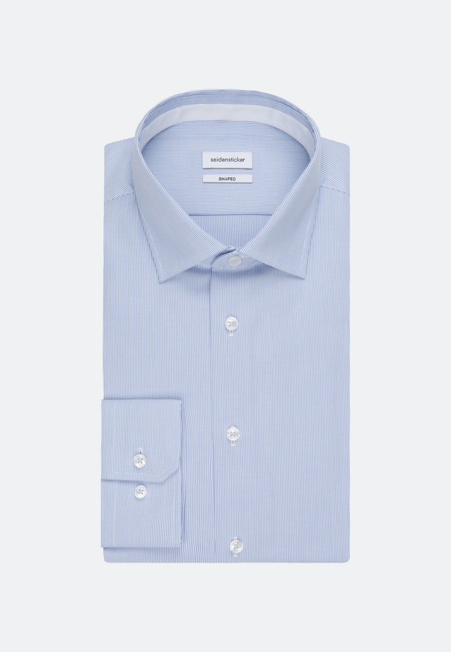 Non-iron Oxford Business Shirt in Shaped with Kent-Collar in Light blue |  Seidensticker Onlineshop