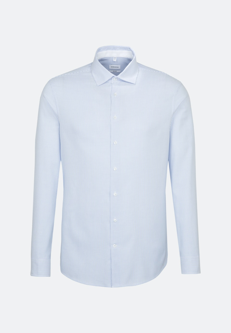 Bügelfreies Oxford Business Hemd in Shaped mit Kentkragen in Hellblau    Seidensticker Onlineshop