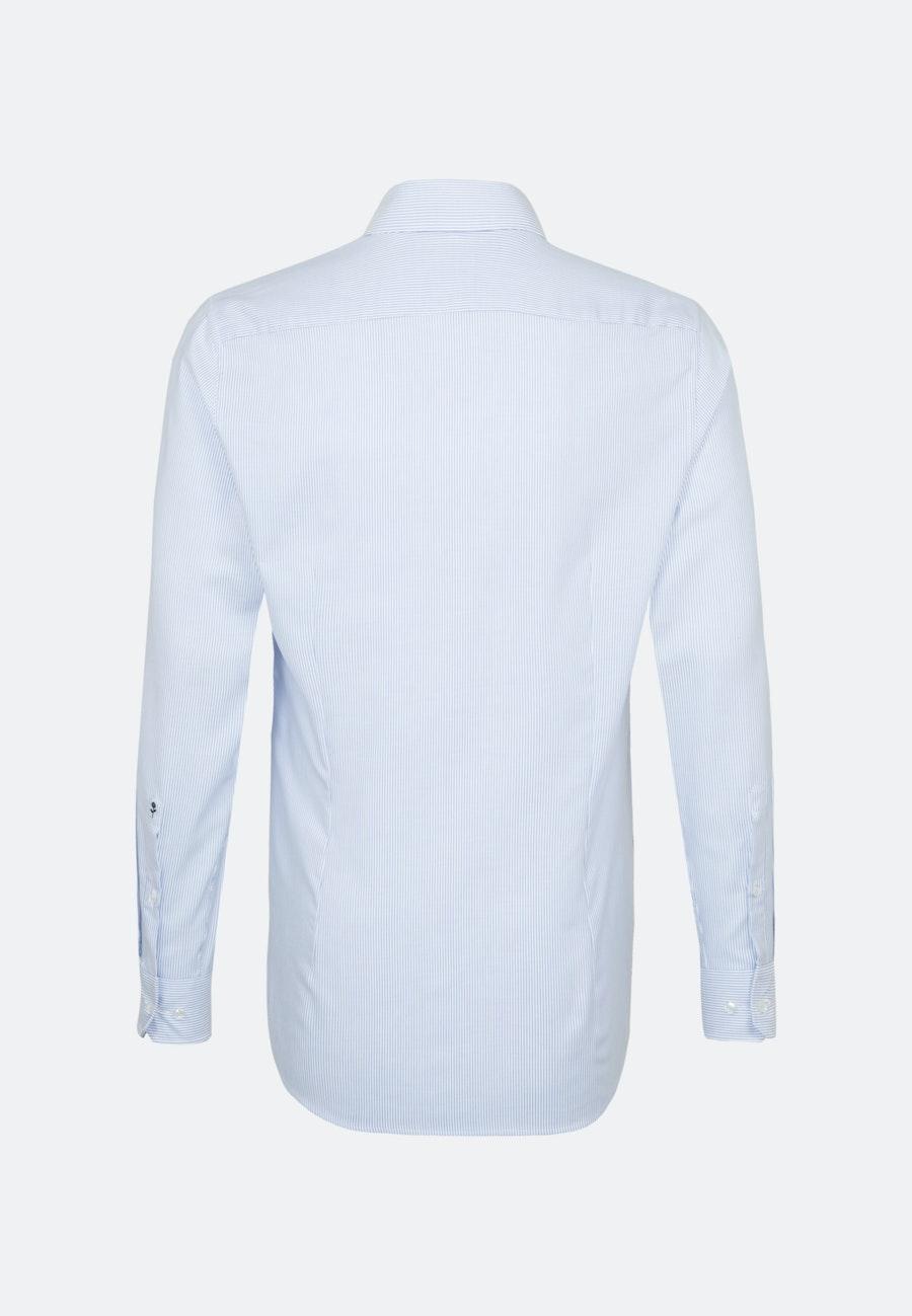 Bügelfreies Oxford Business Hemd in Shaped mit Kentkragen in Hellblau |  Seidensticker Onlineshop