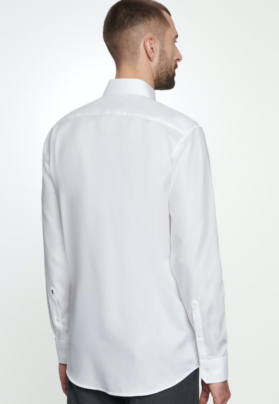 Non-iron Struktur Business Shirt in Regular with Kent-Collar in White |  Seidensticker Onlineshop