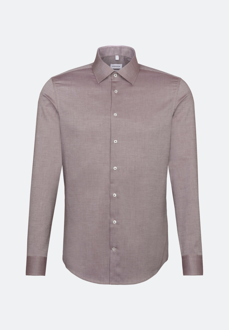 Non-iron Structure Business Shirt in Shaped with Kent-Collar in Red |  Seidensticker Onlineshop