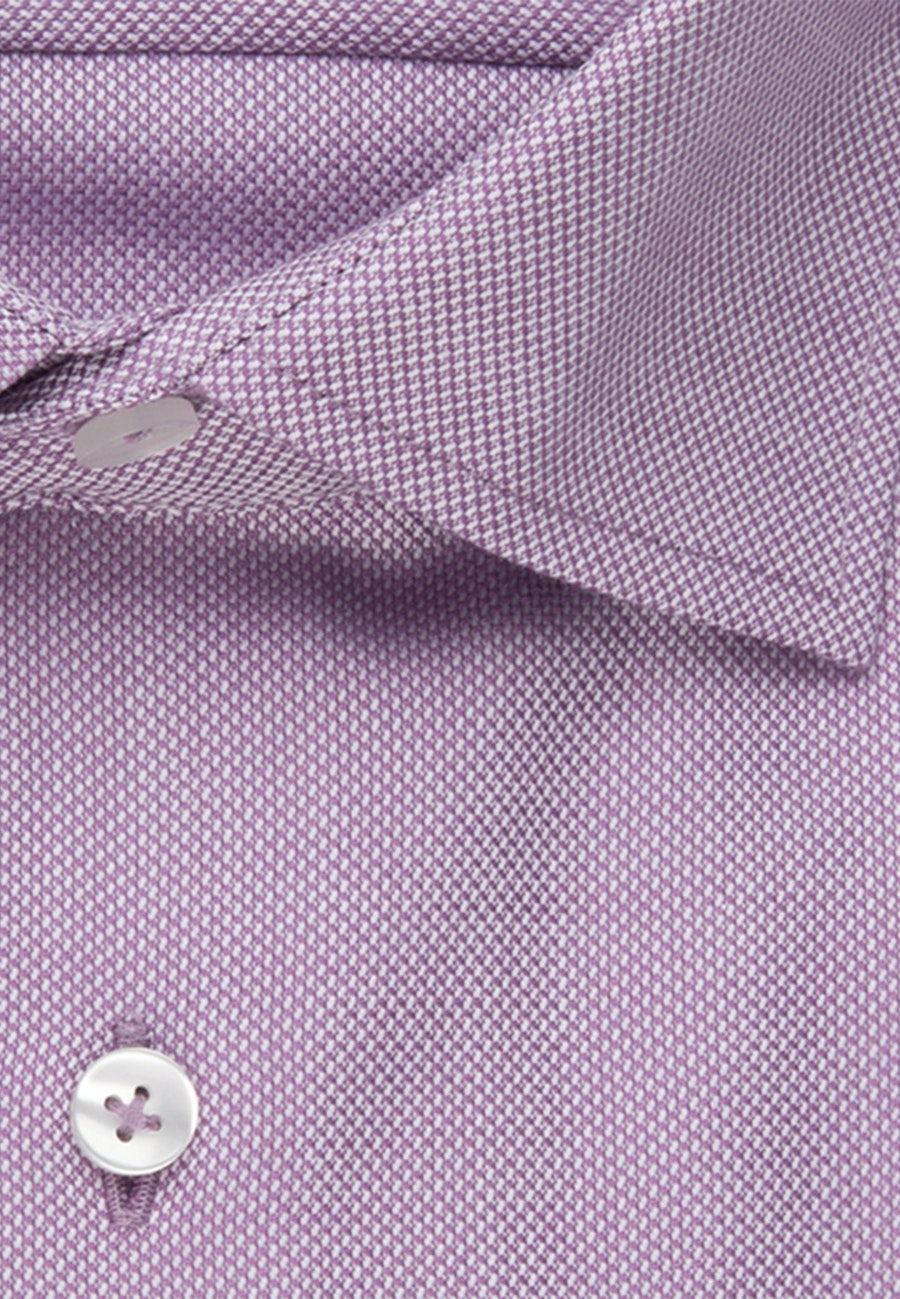 Non-iron Structure Business Shirt in Shaped with Kent-Collar in Lila |  Seidensticker Onlineshop