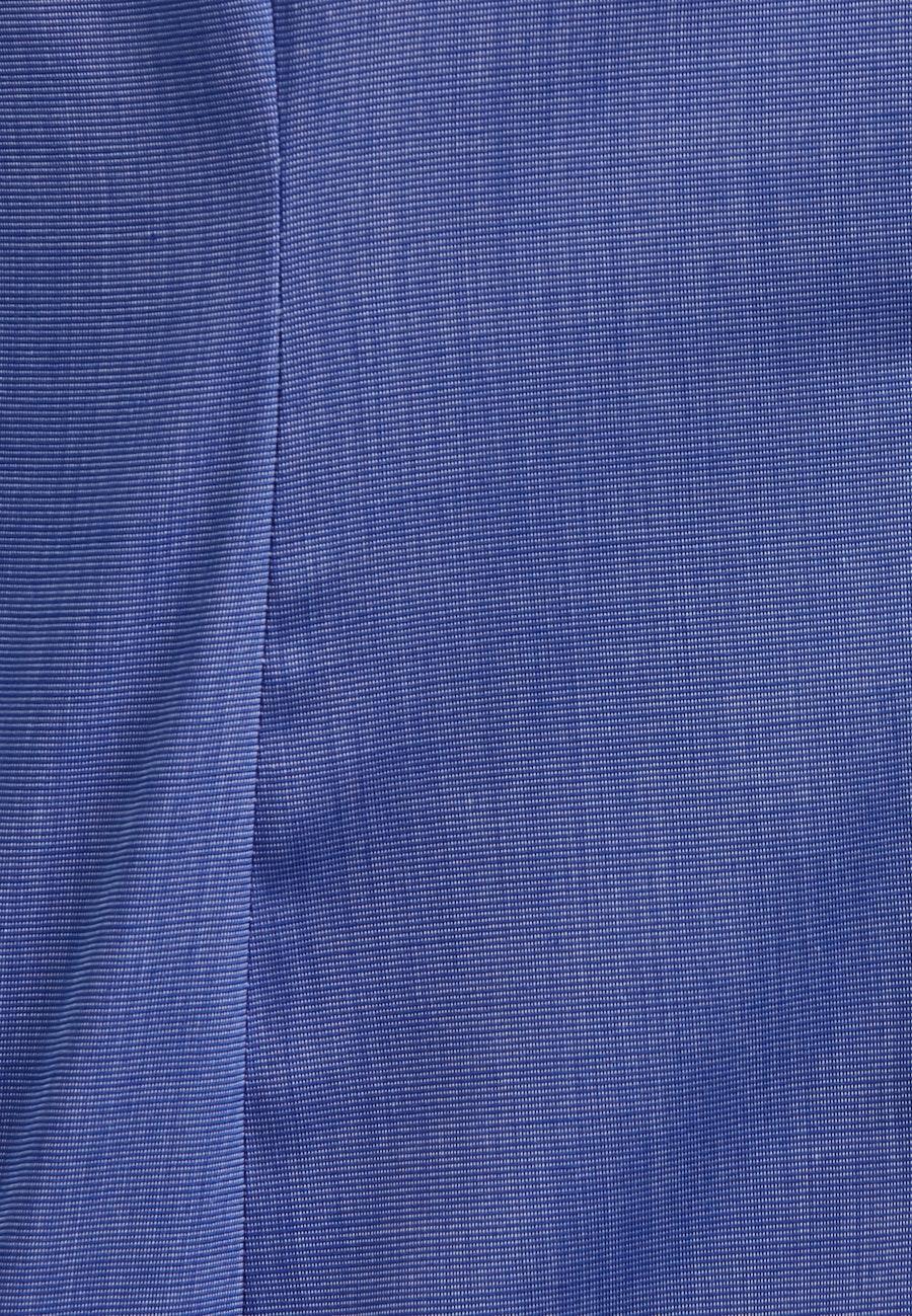 Non-iron Fil a fil Shirt Blouse made of 100% Cotton in Medium blue |  Seidensticker Onlineshop