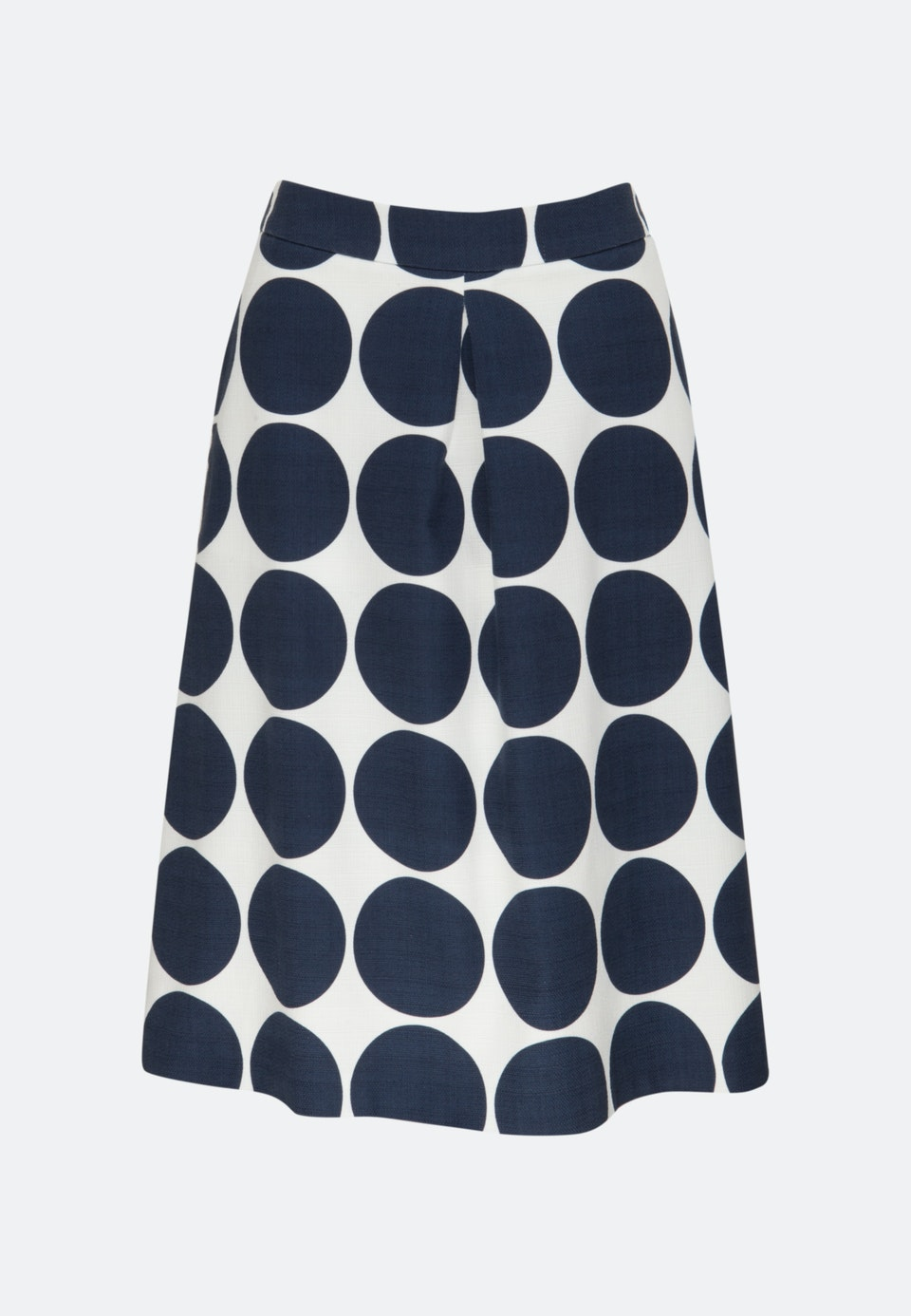 Poplin Midi Skirt made of cotton blend in Dark blue |  Seidensticker Onlineshop