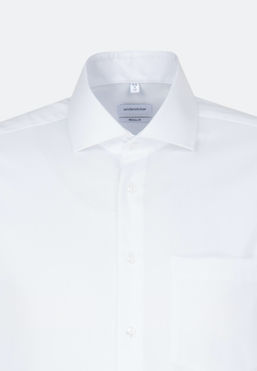 Non-iron Oxford Business Shirt in Regular with Kent-Collar in White |  Seidensticker Onlineshop