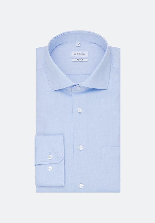 Non-iron Oxford shirt in Regular with Kent-Collar in Light blue    Seidensticker Onlineshop