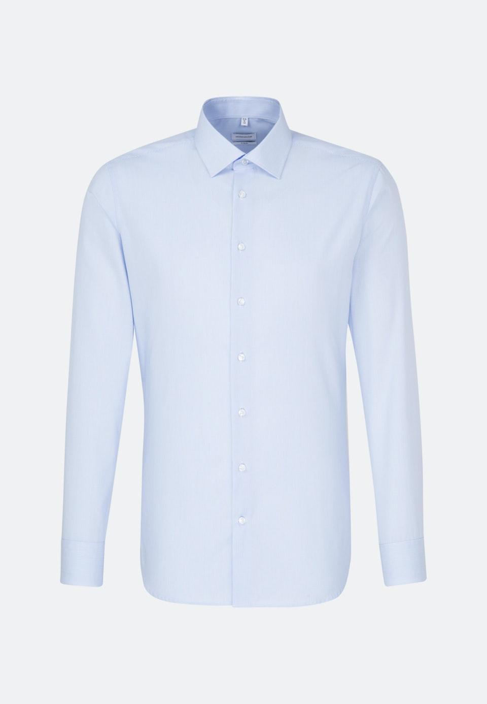 Bügelfreies Popeline Business Hemd in X-Slim mit Kentkragen in Hellblau |  Seidensticker Onlineshop