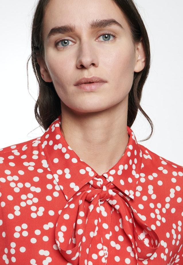 Krepp Shirt Blouse made of 100% Viscose in Red |  Seidensticker Onlineshop