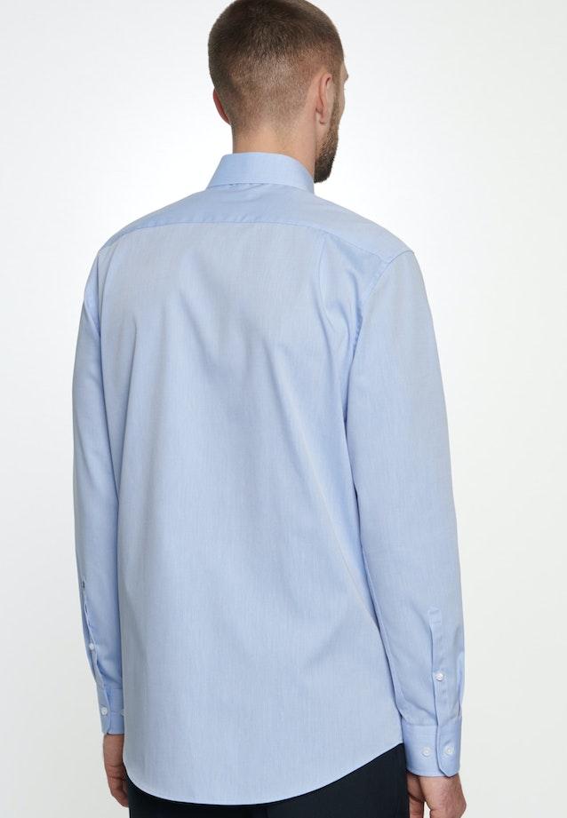 Bügelfreies Chambray Business Hemd in Comfort mit Kentkragen in Hellblau |  Seidensticker Onlineshop