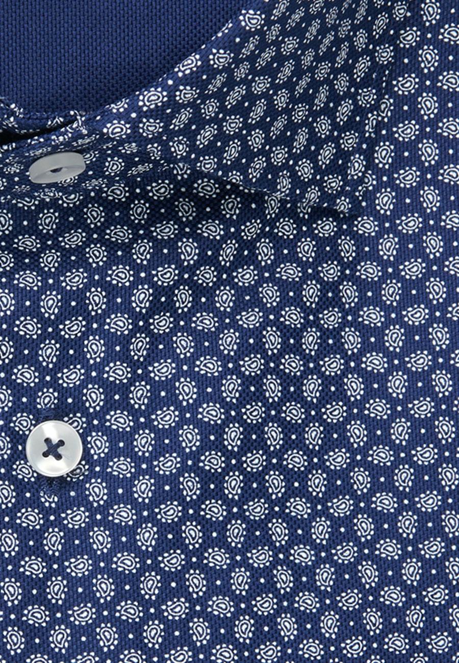 Bügelleichtes Struktur Business Hemd in X-Slim mit Kentkragen in Mittelblau    Seidensticker Onlineshop
