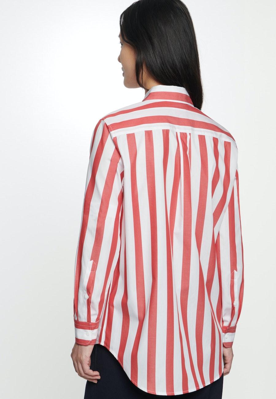 Popeline Hemdbluse aus 100% Baumwolle in Rot    Seidensticker Onlineshop