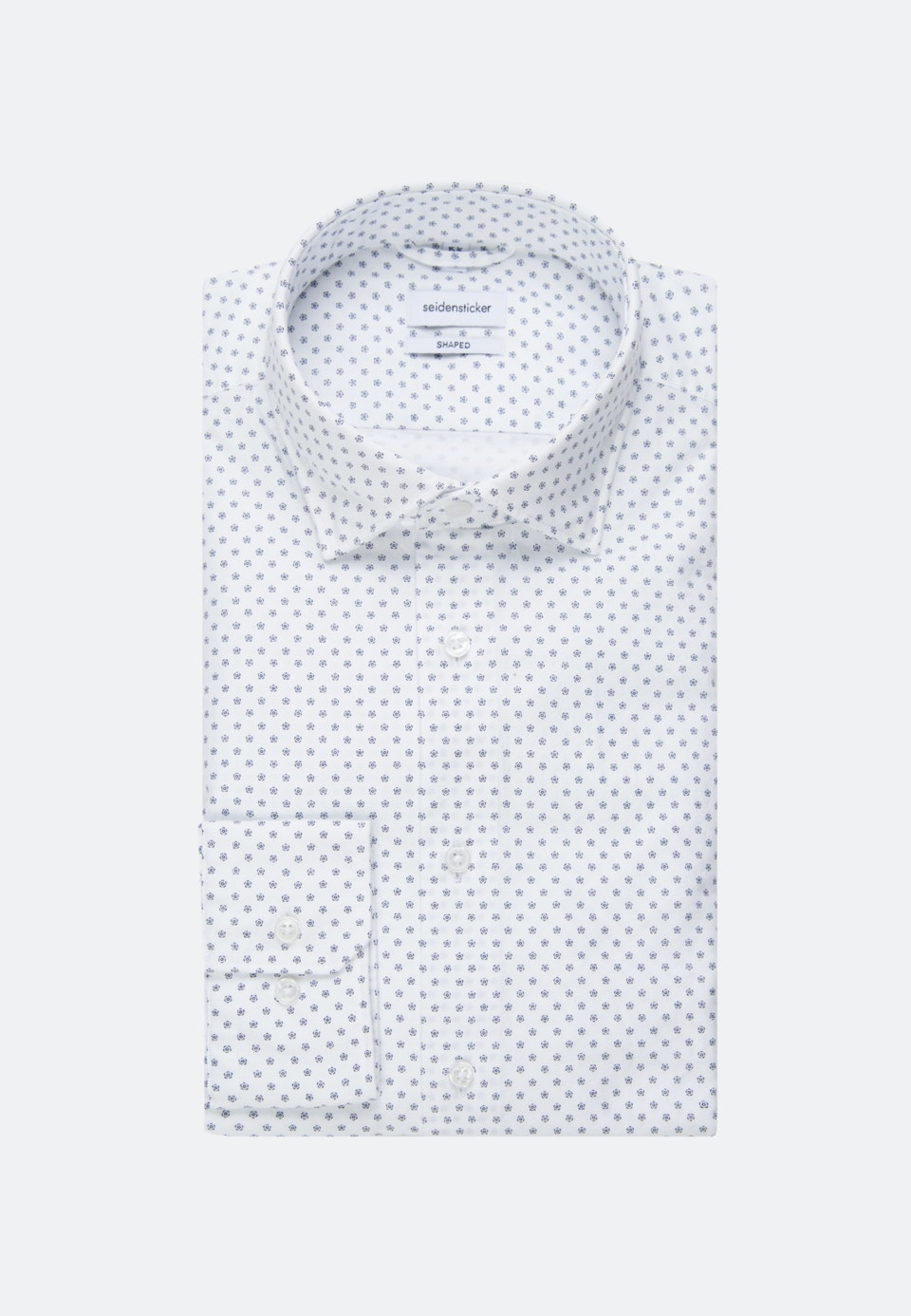Easy-iron Oxford Business Shirt in Shaped with Kent-Collar in White |  Seidensticker Onlineshop