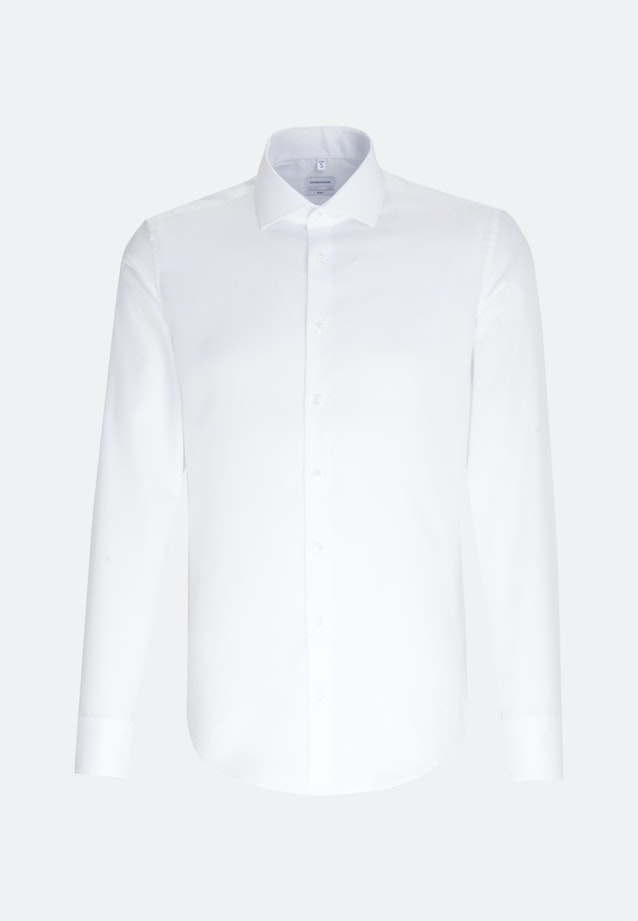 Non-iron Oxford Business Shirt in Slim with Kent-Collar in White |  Seidensticker Onlineshop