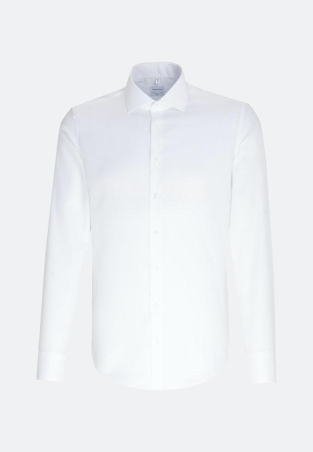 Oxford Shirt Slim Long Sleeve Spread Kent in White |  Seidensticker Onlineshop