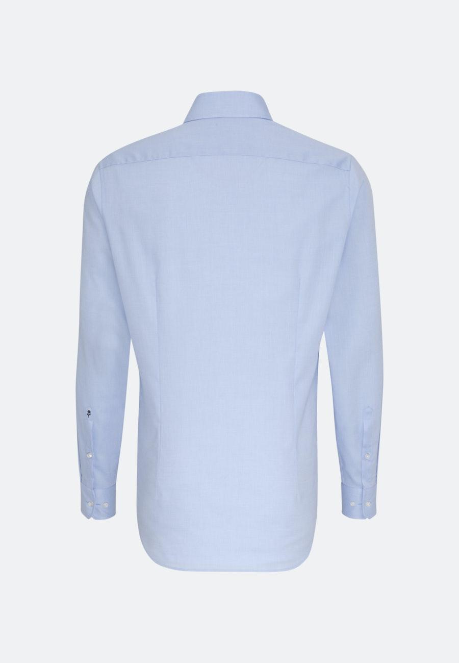 Non-iron Oxford Business Shirt in Slim with Kent-Collar in Light blue    Seidensticker Onlineshop