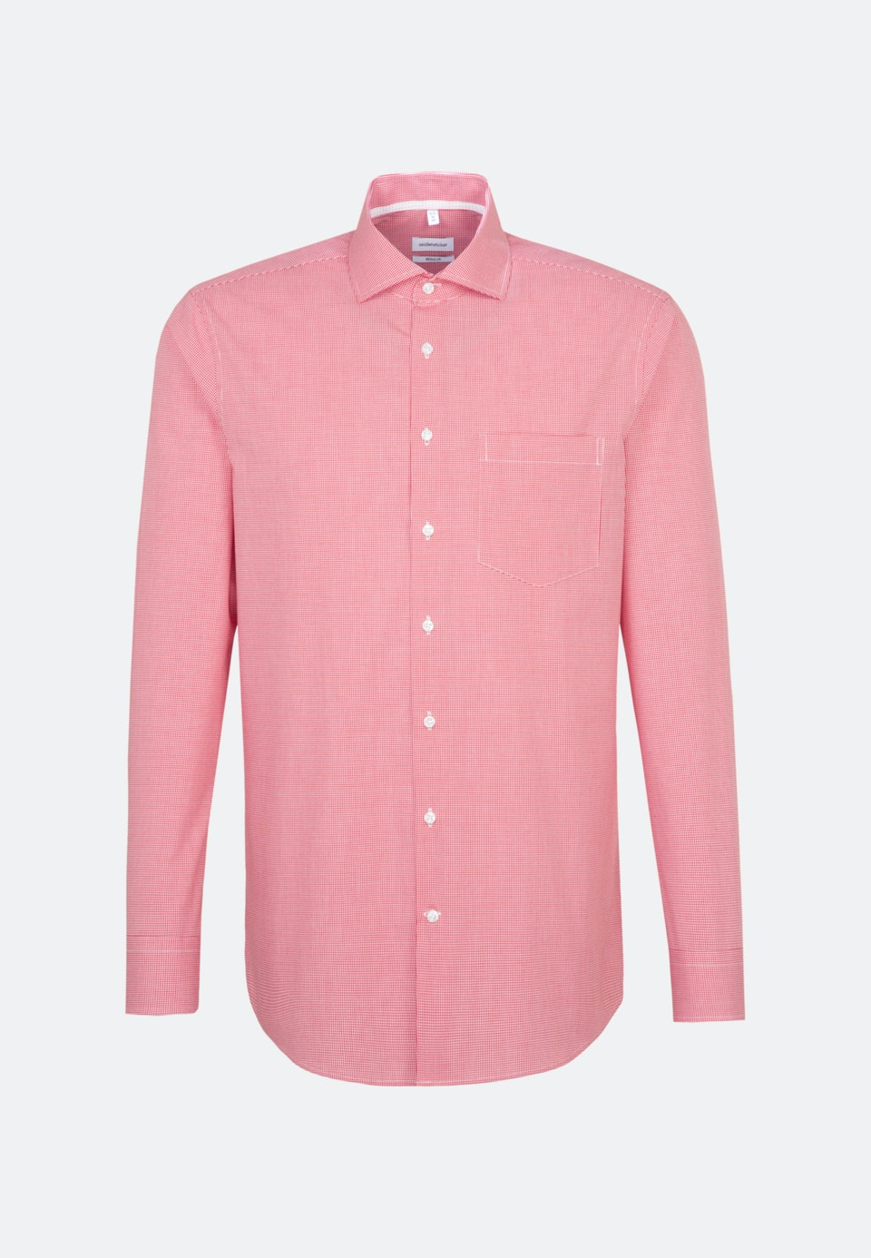 Non-iron Popeline Business Shirt in Regular with Kent-Collar in Red |  Seidensticker Onlineshop