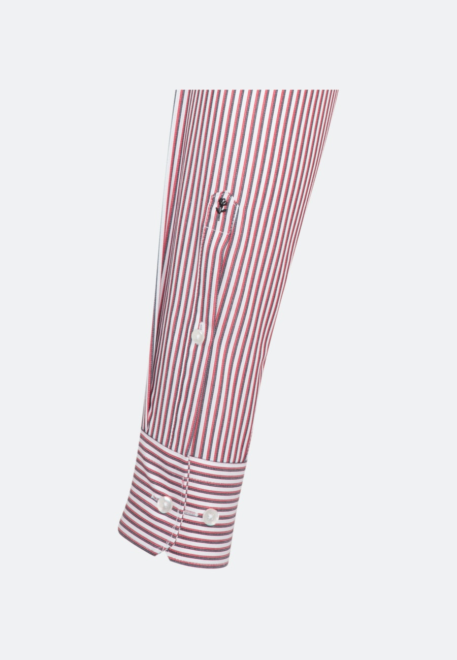Non-iron Cotele Business Shirt in Regular with Kent-Collar in Red |  Seidensticker Onlineshop
