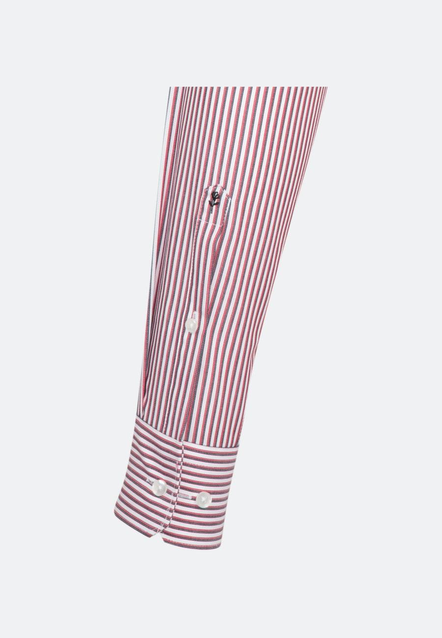 Bügelfreies Cotele Business Hemd in Regular mit Kentkragen in Rot |  Seidensticker Onlineshop