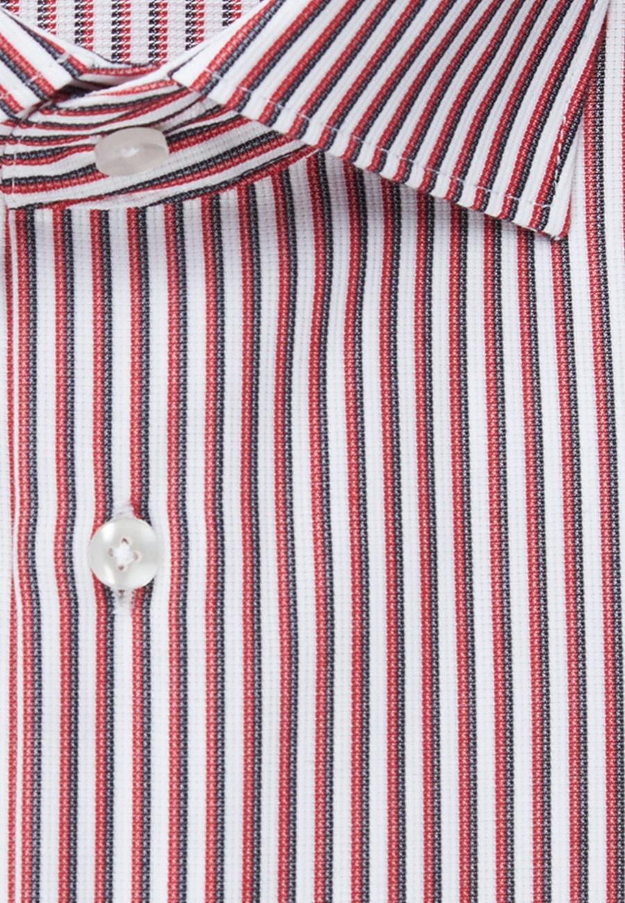 Bügelfreies Cotele Business Hemd in Shaped mit Kentkragen in Rot    Seidensticker Onlineshop
