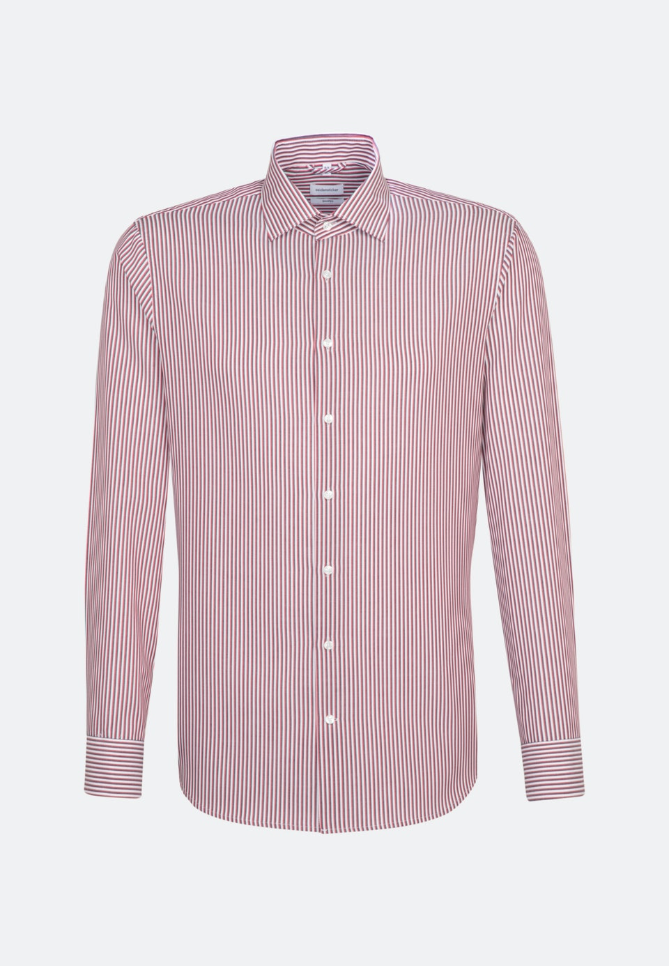 Non-iron Cotele Business Shirt in Shaped with Kent-Collar in Red |  Seidensticker Onlineshop