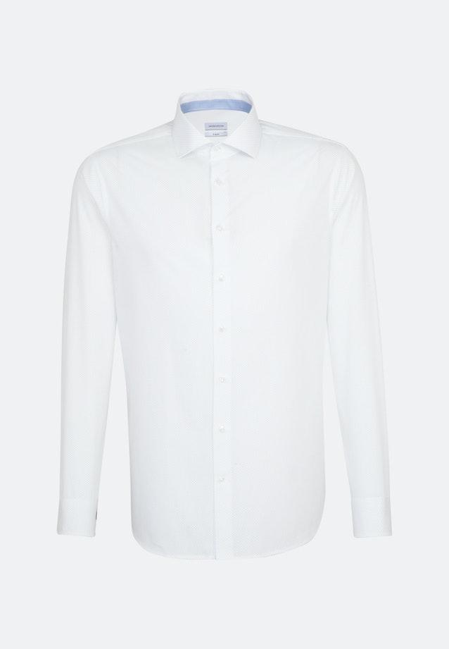 Easy-iron Popeline Business Shirt in X-Slim with Kent-Collar in White |  Seidensticker Onlineshop
