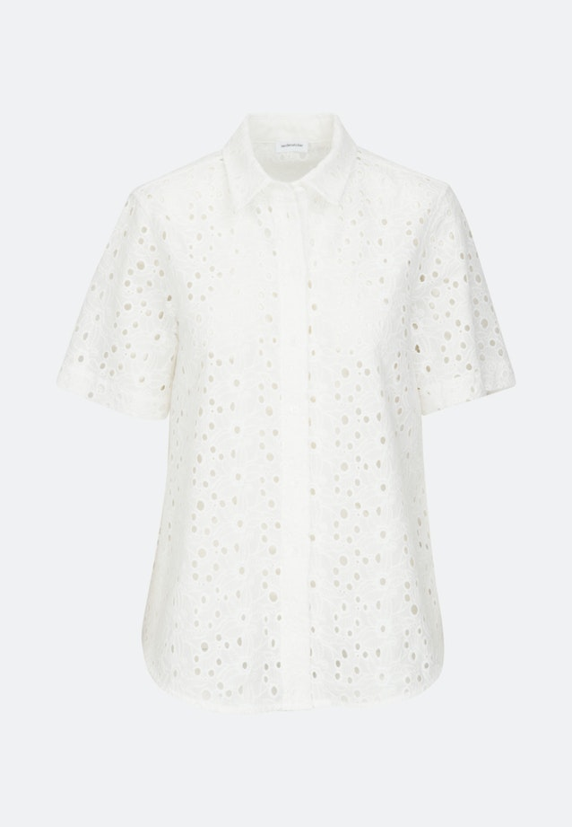 Kurzarm Voile Hemdbluse aus 100% Baumwolle in Ecru    Seidensticker Onlineshop